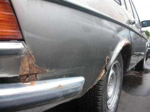 коррозия кузова автомобиля фотография