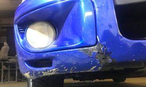 Ремонт бампера Subaru Impreza WRX