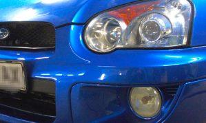 Ремонт бампера, покраска бамперов, покраска дисков Subaru Impreza WRX