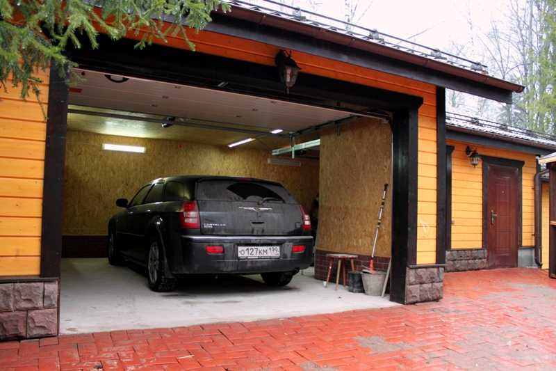 как подготовить автомобиль к длительному простою в гараже фотография