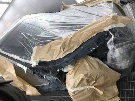 Рихтовка и покраска BMW X5 E70