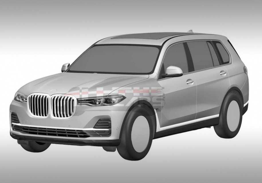Появились изображения серийного BMW X7