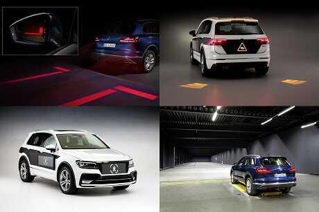 Изображение новые возможности светотехники демонстрирует Volkswagen