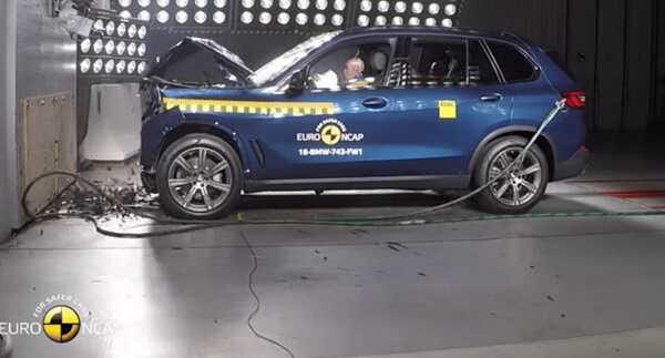 Crash Test of BMW X5 Изображение