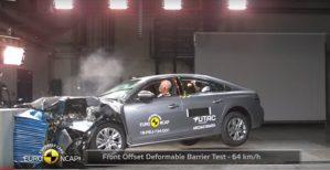 Краш-тест Peugeot изображение