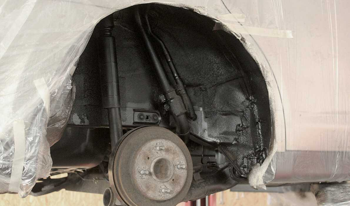 Nissan Tida антикоррозийная обработка автомобиля картинка