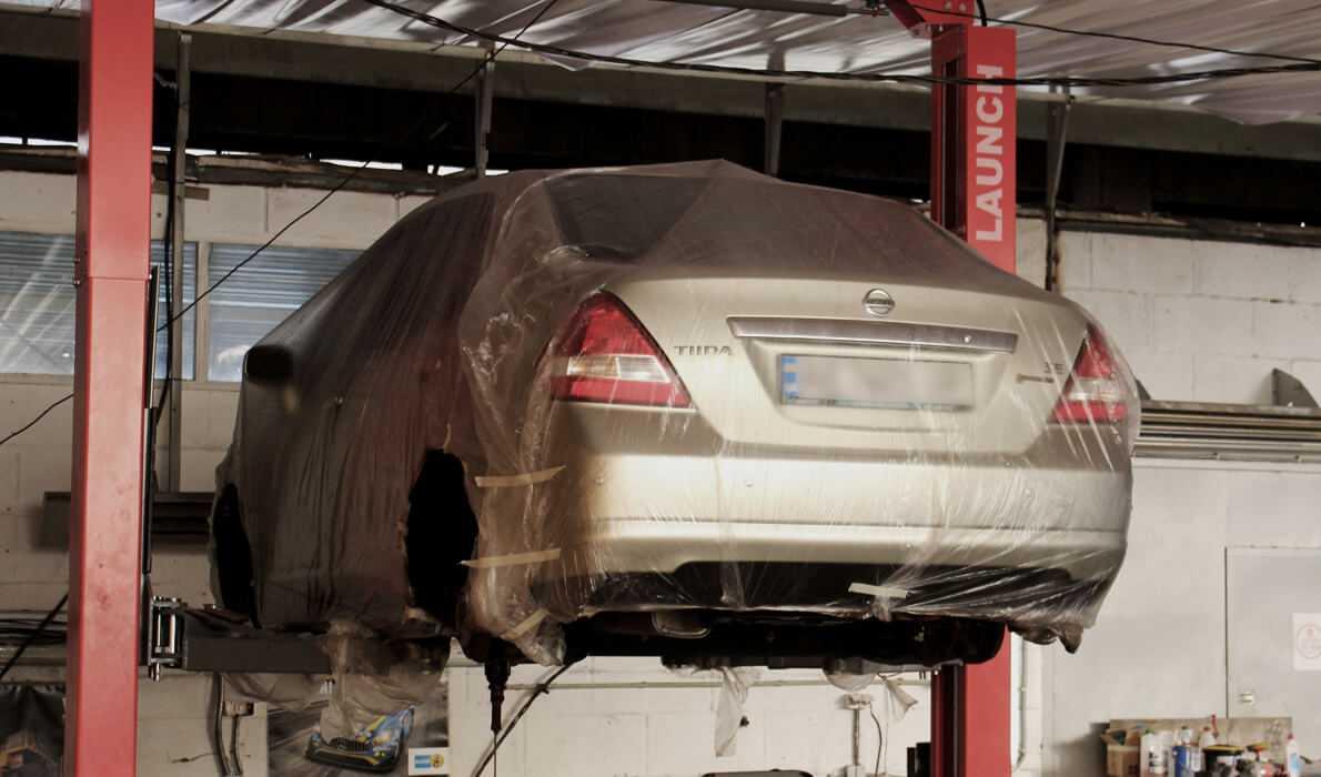 Nissan антикоррозийная обработка автомобиля Картинка