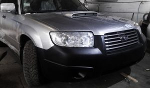 Фото Subaru Forester Turbo silver