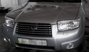 Subaru Forester Turbo silver - замена, покраска, рихтовка картинка