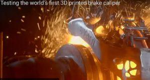 Изображение Volkswagen создают титановые тормозные суппорты