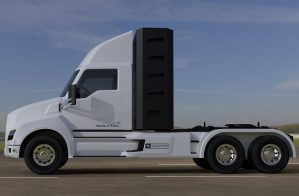 электро-водородные и электро грузовики Nikola Motor картинка