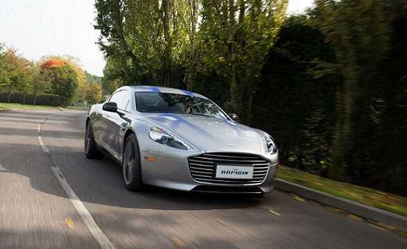 """Aston Martin RapidE будет сниматься в """"Агент 007""""картинка"""
