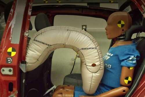 Фото Необычные подушки безопасности - для пассажиров сзади