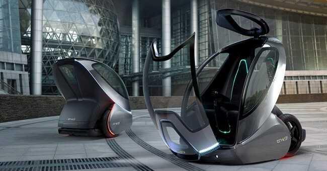 Фото роботизоване таксі майбітнього