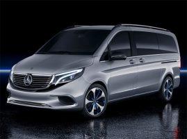 Фото Daimler - серия автомобилей с электротягой