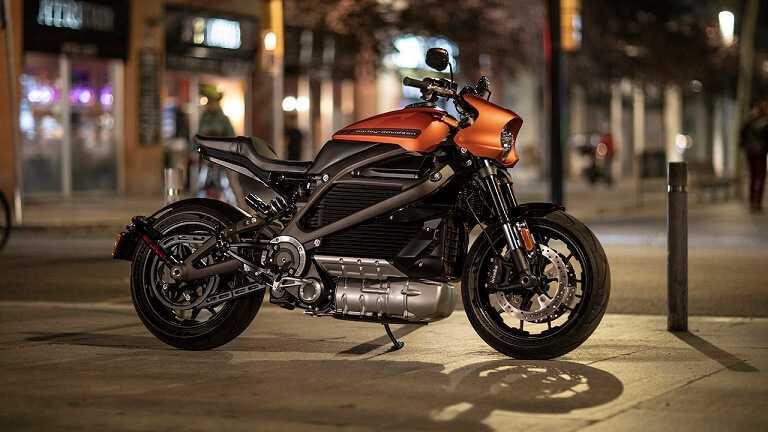 Фото Электрический мотоцикл LiveWire Harley-Davidson