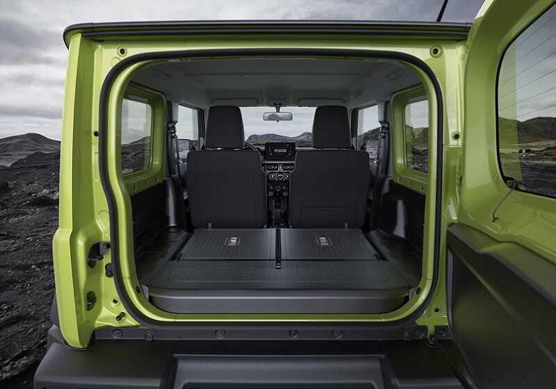 Фото Suzuki Jimny багажник
