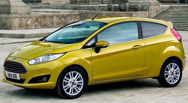 Фото Ford Fiesta - автомобиль для городской дамы