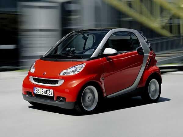 Фото Smart Fortwo - компактный женский автомобиль